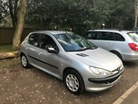 Peugeot 206 1.1 12 months mot. Cheap to Insure