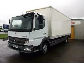 4be2616c6f Mercedes-Benz Atego 816 BOX WITH COLUMN TAIL-LIFT