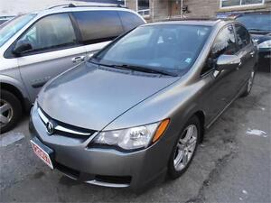 2007 Acura CSX Auto Leather Sunroof  Navi Grey ONLY 110,000km