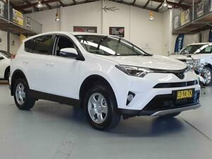 2018 Toyota RAV4 ZSA42R MY18 GX (2WD) White Continuous Variable Wagon Seven Hills Blacktown Area Preview