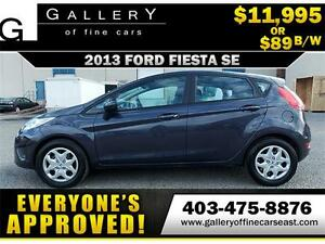 2013 Ford Fiesta SE $89 bi-weekly APPLY NOW DRIVE NOW