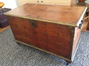Solid Wood Balinese Chest / Trunk