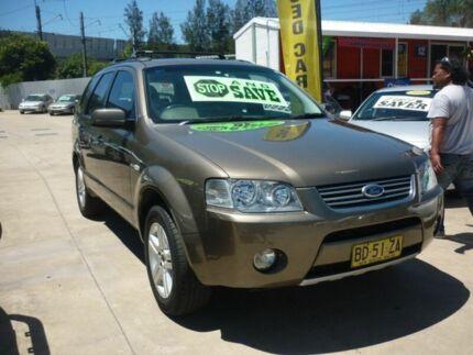 2008 Ford Territory SY MY07 Upgrade Ghia (4x4) Grey 6 Speed Auto Seq Sportshift Wagon Granville Parramatta Area Preview