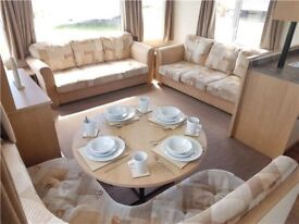 Cheap 12 foot 3 bed static caravan in Northumberland with facilities and beach access