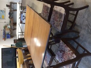 Wood Table and Chair set