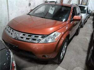 "2003 Nissan Murano SL ""AS-IS"""