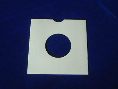 "10 7"" WHITE CARD RECORD SLEEVES / MASTERBAGS / COVERS"