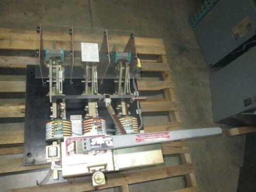 Boltswitch Vlb-3612-st 3000a 600v W/ Shunt Trip  Used E-ok