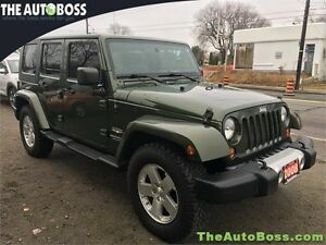 2008 Jeep Wrangler Sahara Unlimited REDUCED! CERTIFIED! WARRANTY