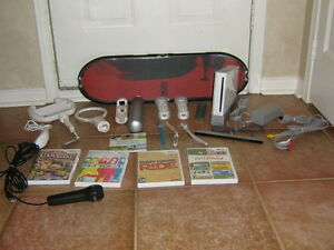 Nintendo Wii With Accessories In Great Condition