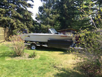 1983 Lund Tyee fishing boat