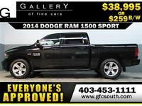 2014 DODGE RAM SPORT CREW *EVERYONE APPROVED* $0 DOWN $259/BW