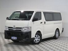 2012 Toyota Hiace TRH201R MY12 Upgrade LWB White 4 Speed Automatic Van Jandakot Cockburn Area Preview