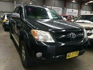 2008 Toyota Hilux GGN25R 07 Upgrade SR5 (4x4) Black 5 Speed Automatic Dual Cab Pick-up Macquarie Hills Lake Macquarie Area Preview