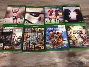 X Box One games for sale