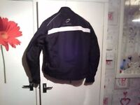 2 helmets motorbike jacket and trousers £45 cash the lot