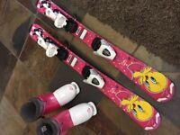 Junior Girls downhill ski set