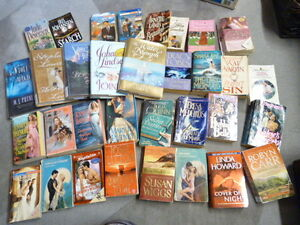 Box of 35+ books - ROMANCE - Various Authors and Genres