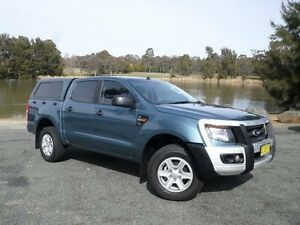 2014 Ford Ranger PX XL 3.2 (4x4) Blue 6 Speed Automatic Dual Cab Utility Belconnen Belconnen Area Preview