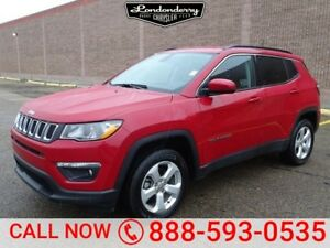 2018 Jeep Compass 4WD LATITUDE Accident Free,  Bluetooth,  A/C,