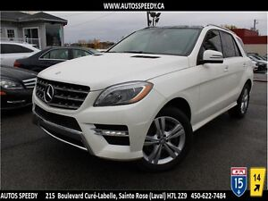 2015 MERCEDES ML350 BLUETEC 4MATIC, NAVI, CAMERA 360, PANORAMIC
