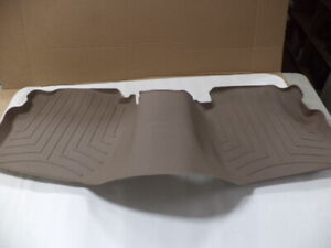 Weathertech rear floor mat, tan, for 1999-2011 LincolnTown Car