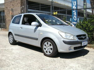 2010 Hyundai Getz TB MY09 S Silver 5 Speed Manual Hatchback Wangara Wanneroo Area Preview