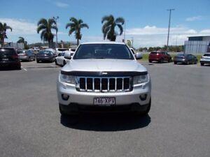 2011 Jeep Grand Cherokee WK MY2012 Laredo Bright Silver 5 Speed Sports Automatic Wagon