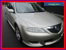 2003 Mazda 6 GG Luxury Sports Beige 4 Speed Auto Activematic Hatchback Canada Bay Canada Bay Area Preview