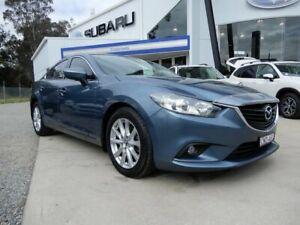 2012 Mazda 6 GJ1031 Sport SKYACTIV-Drive Blue 6 Speed Sports Automatic Sedan Glendale Lake Macquarie Area Preview