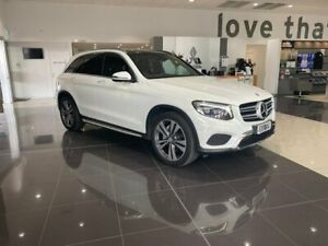 2016 Mercedes-Benz GLC-Class X253 GLC250 d 9G-Tronic 4MATIC White 9 Speed Sports Automatic Wagon Hoppers Crossing Wyndham Area Preview