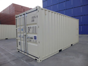20' NEW One-Trip Shipping/Storage Containers for SALE!!