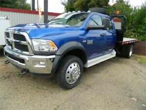 2014 dodge (4x4) 4500 /12ft deck only 33 000 kms