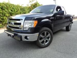 2014 Ford F-150 XLT---4x4---LOW KM'S---20INCH RIMS---SUPER CLEAN