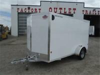 6 X 12 Enclosed Cargo **ALL-ALUMINUM** - Tax In Prices!!