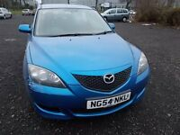 MAZDA 3 TS2 1.6 5 DOOR HATCHBACK 54 REG ,, MOT MARCH 2017