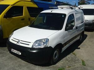 2008 Citroen Berlingo II M59 White 5 Speed Manual Panel Van Canada Bay Canada Bay Area Preview