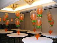 Start your own business of decorating parties and events with ba