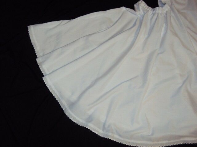 Mexican Folklorico,Dance,White Underskirt,Size L-XL