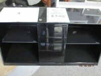 *+NADZ*BRAND NEW Levv Premier Range*Free Delivery* High BLACK Gloss TV Cabinet for UPTO 52 inchesTV