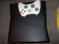 xbox 360 with 19 games,NO TEXTS PLZ.kinect and chatpad+udraw tablet.
