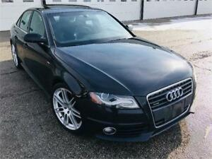 2011 AUDI A4 SLINE*6SPD*NO ACCIDENTS*WARRANTY*LEDS*LIKE NEW 2.0T