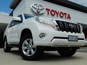 2017 Toyota Landcruiser Prado GDJ150R MY16 GXL (4x4) White 6 Speed Automatic Wagon Greenway Tuggeranong Preview