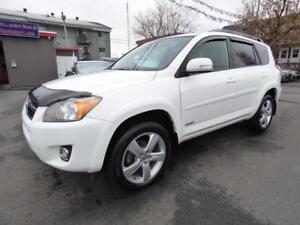 2011 TOYOTA RAV4 SPORT 4WD (AUTOMATIQUE, 2.5L, TOIT, MAGS, FULL)