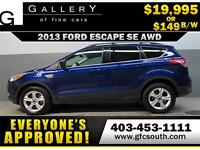 2013 FORD ESCAPE ECOBOOST *EVERYONE APPROVED* $0 DOWN$149/BW