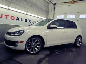 2013 Volkswagen Golf GTI MAGS CHROME CUIR TOIT 4 PORTES