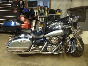 08 Kawa Vulcan 1600 Nomad with LOTS of chrome