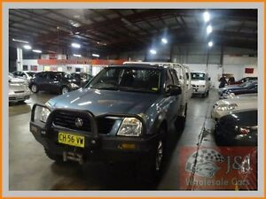 2003 Holden Rodeo RA LX (4x4) Silver 5 Speed Manual Cab Chassis Warwick Farm Liverpool Area Preview