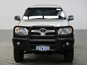 2007 Toyota Hilux GGN25R 07 Upgrade SR5 (4x4) Silver 5 Speed Automatic Dual Cab Pick-up East Rockingham Rockingham Area Preview