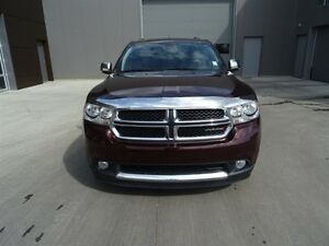 2012 Dodge Durango AWD CREWPLUS Leather,  Heated Seats,  Back-up Edmonton Edmonton Area image 2
